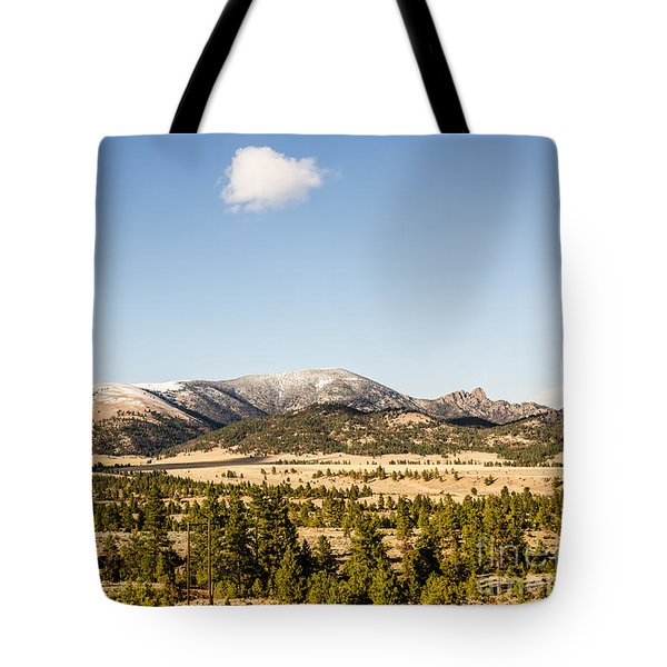 Sleeping Giant Tote Bag by Sue Smith