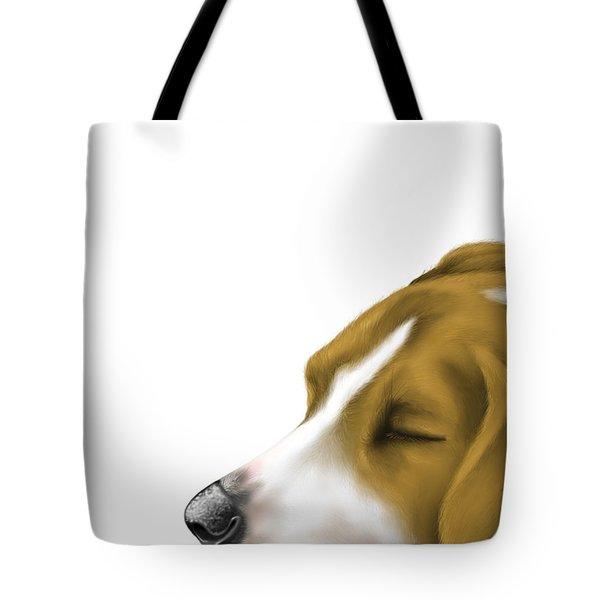 Sleeping Tote Bag by Veronica Minozzi