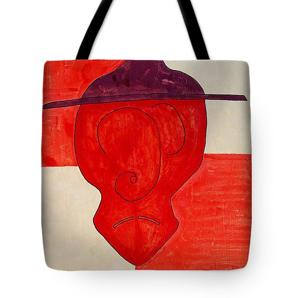 Sleepy Hidalgo Original Painting Tote Bag by Sol Luckman