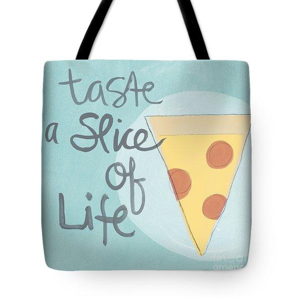 Slice of Life Tote Bag by Linda Woods