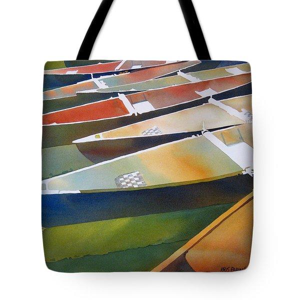 Slices Tote Bag by Kris Parins