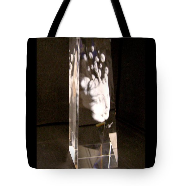 Slow Boil Crystal Sculpture 6 Tote Bag by Dia T