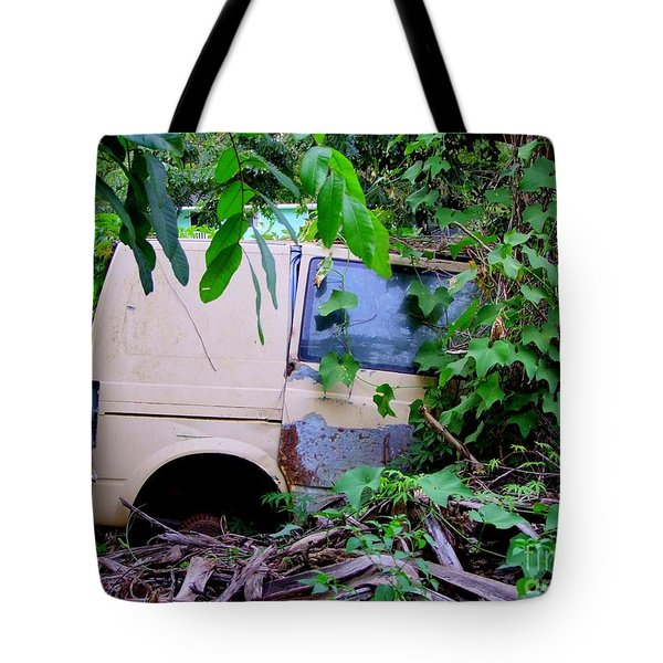 Slow Recycling Tote Bag by Mary Deal
