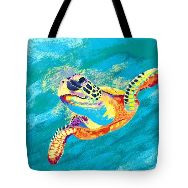 Slow Ride Tote Bag by Kevin Putman