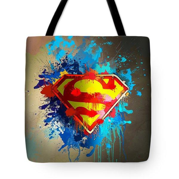 Smallville Tote Bag by Anthony Mwangi