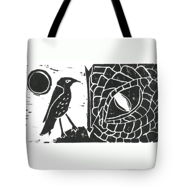 Smaug And The Thrush Tote Bag by Lynn-Marie Gildersleeve