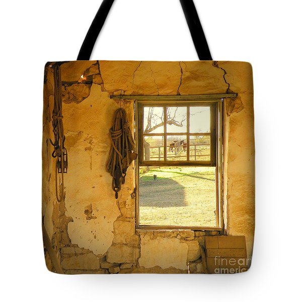 Smell Of Hay Tote Bag by Joe Jake Pratt