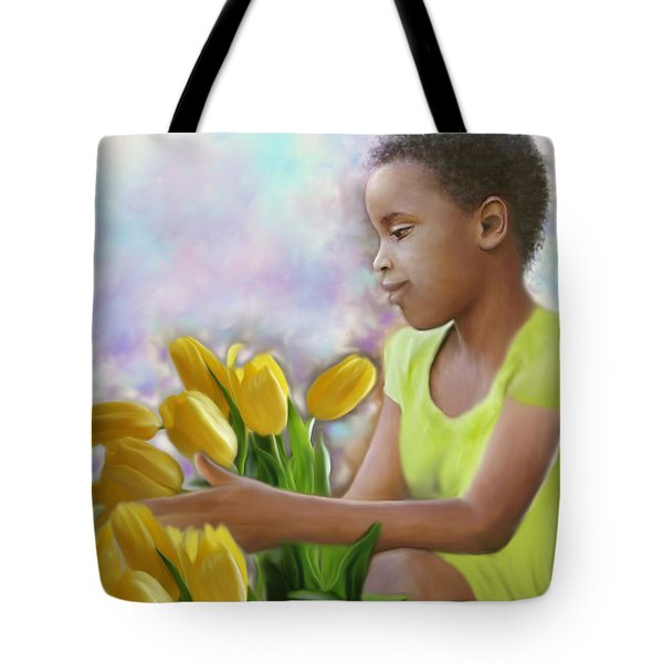 Smile 3 Tote Bag by Kume Bryant