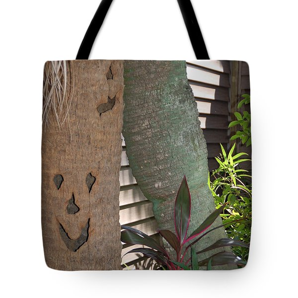 Smiley Tree Tote Bag by Aimee L Maher Photography and Art Visit ALMGallerydotcom