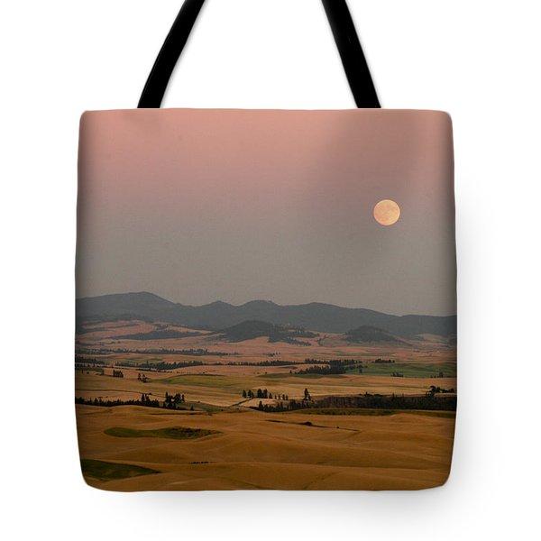 Smoky Palouse Tote Bag by Jean Noren