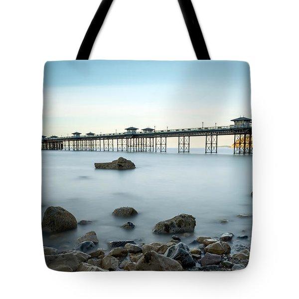 Smooth Waters Tote Bag by Adrian Evans
