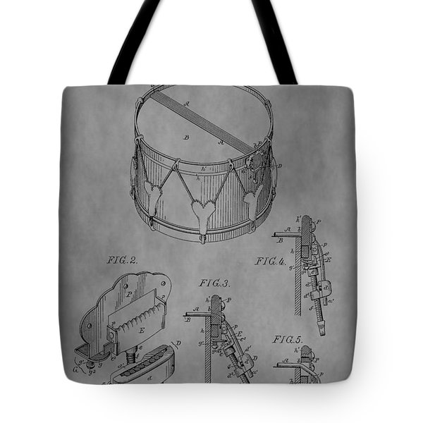 Snare Drum Tote Bag by Dan Sproul