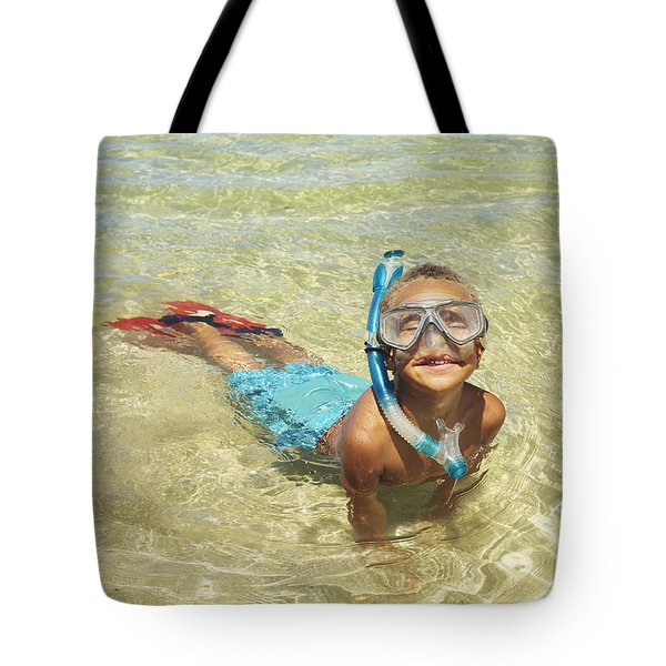 Snorleing Boy Tote Bag by Kicka Witte