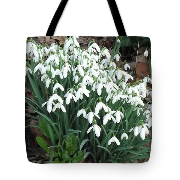 Snow Drops Tote Bag by John Williams