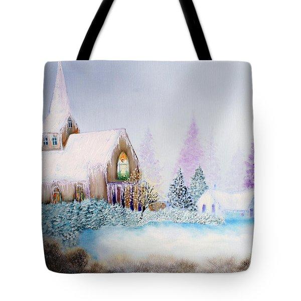 Snow in Florida Tote Bag by David Kacey