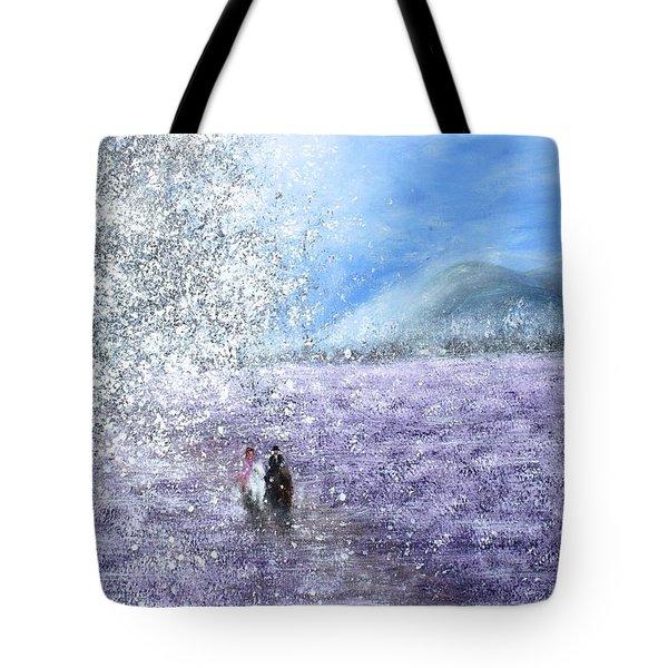 Snow Tree Tote Bag by Kume Bryant