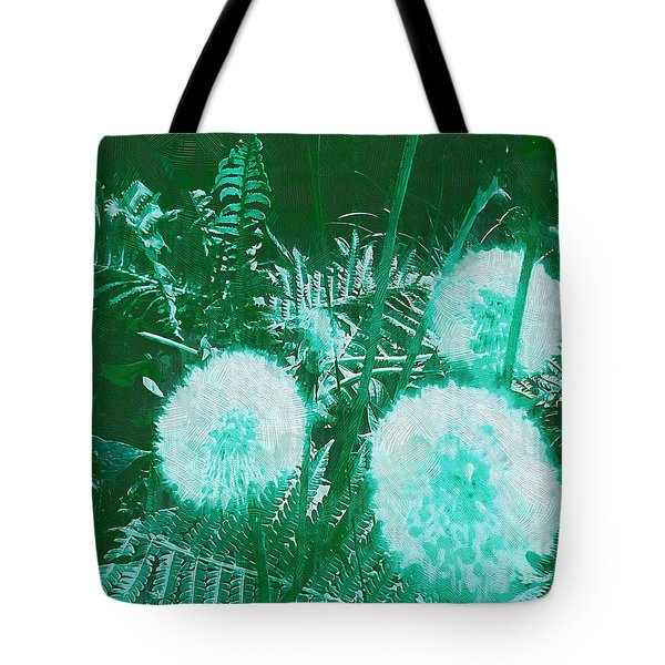 Snowballs In The Garden Tote Bag by Pepita Selles