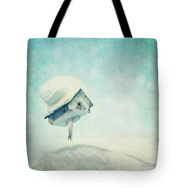 snowbird's home Tote Bag by Priska Wettstein