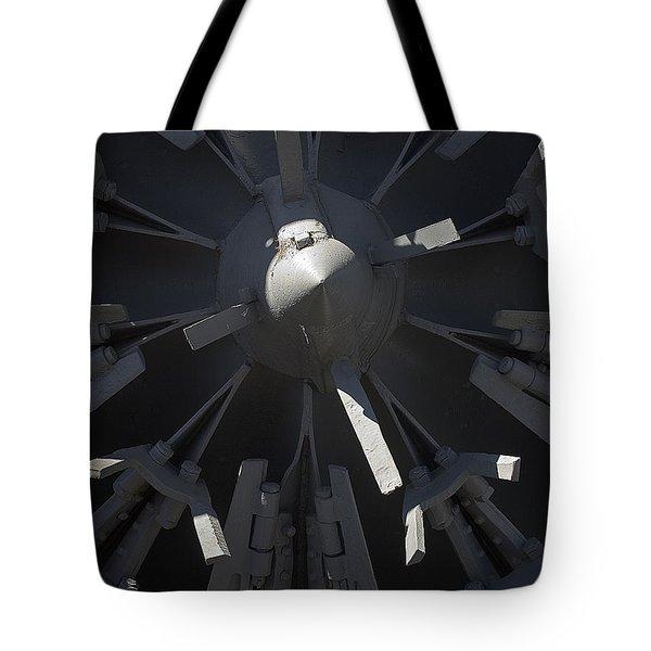 Snowblower Tote Bag by Steven Ralser