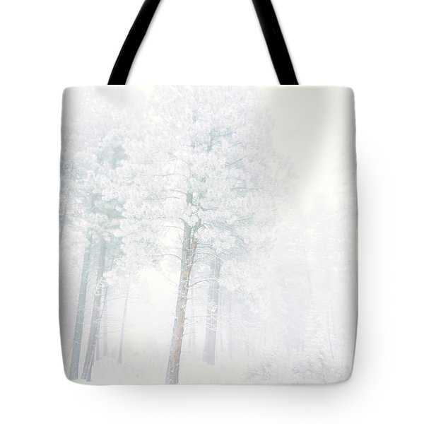 Snowed In Tote Bag by Tara Turner