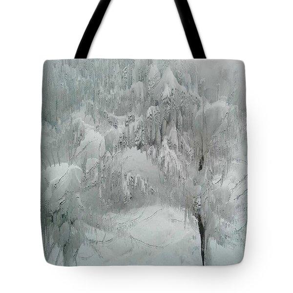 Snowland Tote Bag by Kume Bryant