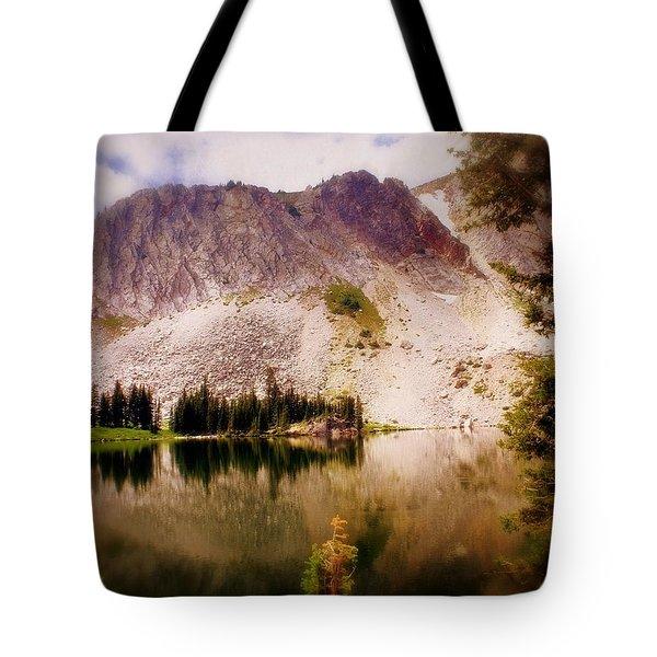 Snowy Mountains Loop 2 Tote Bag by Marty Koch