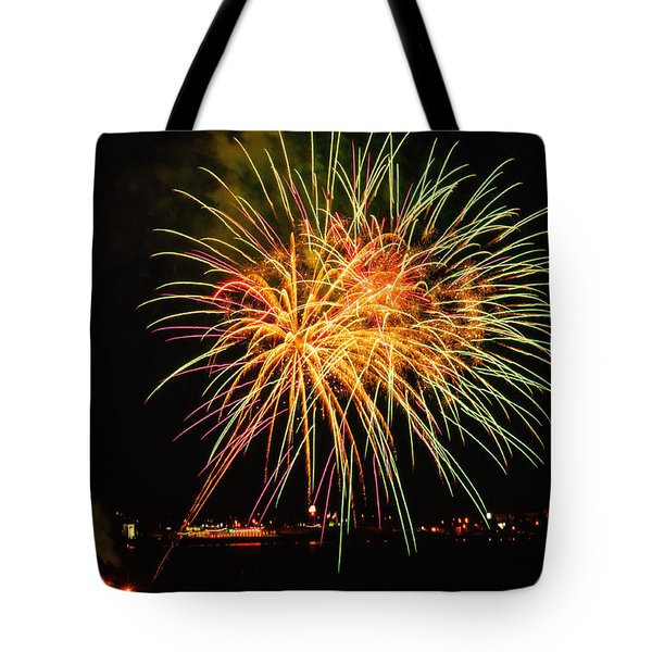So many colours Tote Bag by Sabine Edrissi