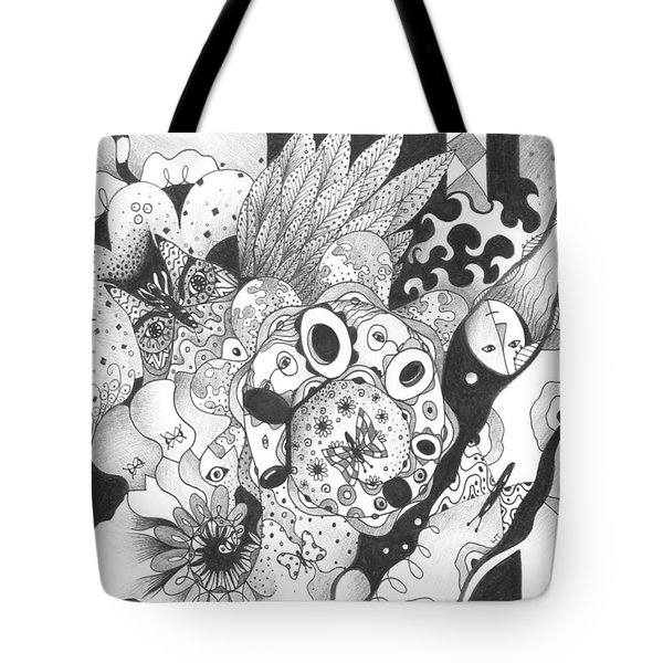So Much Make Believe Tote Bag by Helena Tiainen