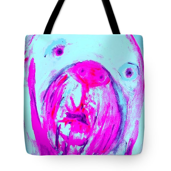 tell me I am the only one Tote Bag by Hilde Widerberg