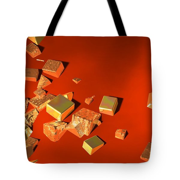 So Shiny Tote Bag by Andreas Thust