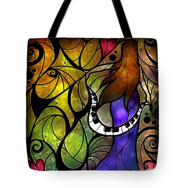 So This Is Love Tote Bag by Mandie Manzano