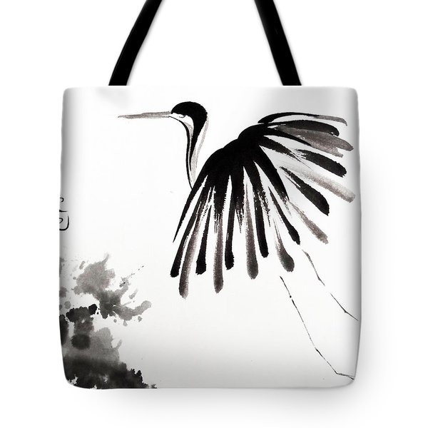 Soaring High Tote Bag by Oiyee At Oystudio