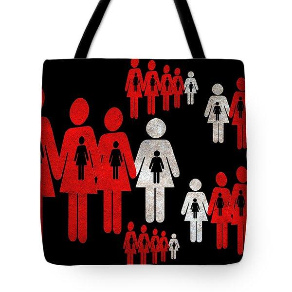 Social Responsibility 1 Part 1 Tote Bag by Angelina Vick