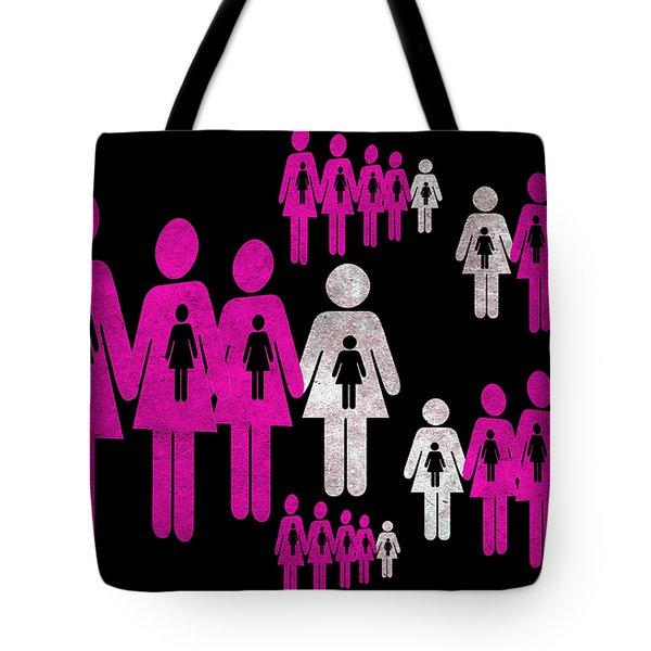 Social responsibility 1 Part 2 Tote Bag by Angelina Vick