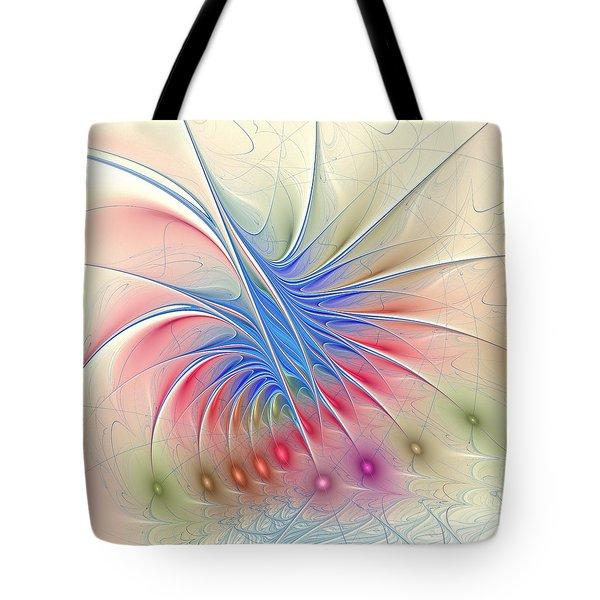 Soft Colors Tote Bag by Anastasiya Malakhova