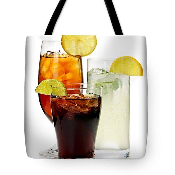 Soft Drinks Tote Bag by Elena Elisseeva