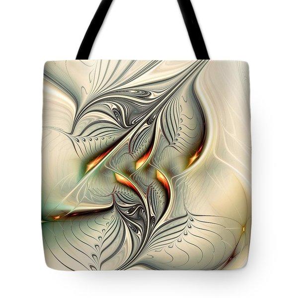 Soft Glow Tote Bag by Anastasiya Malakhova