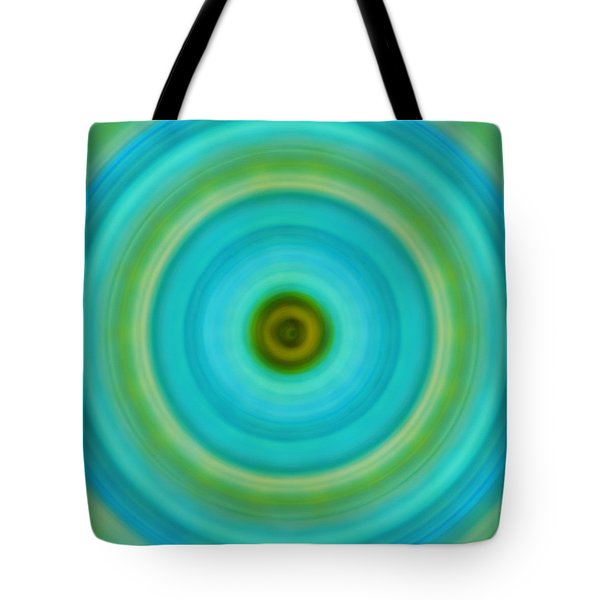Soft Healing - Energy Art By Sharon Cummings Tote Bag by Sharon Cummings