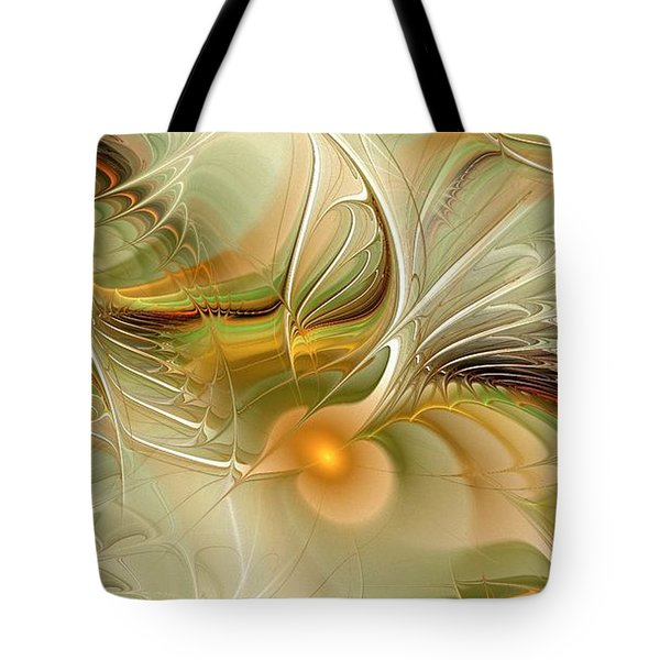 Soft Wings Tote Bag by Anastasiya Malakhova