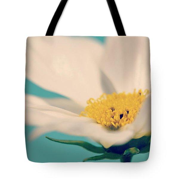 Softly Spoken Tote Bag by Melanie Moraga