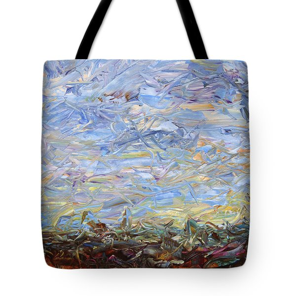 Soil Tumoil 2 Tote Bag by James W Johnson
