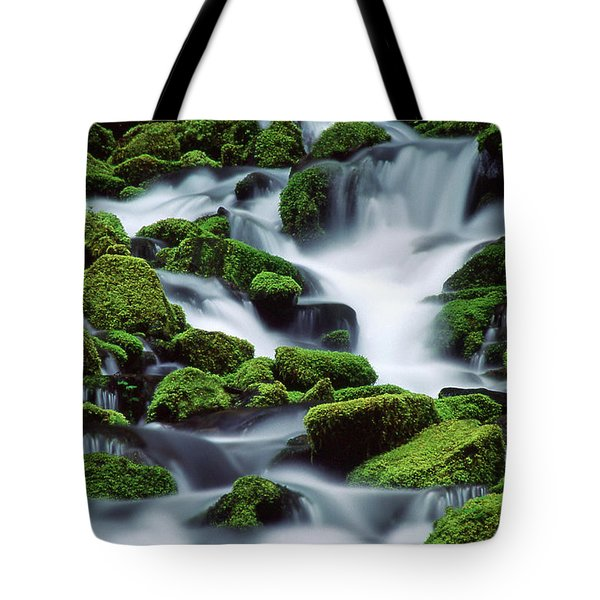 Sol Duc Tote Bag by Ginny Barklow