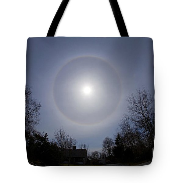 Solar Halo Tote Bag by Chris Cook