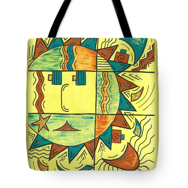 Solar Southwest Tote Bag by Susie WEBER