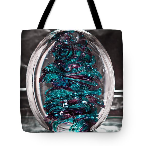 Solid Glass Sculpture Rb3 Tote Bag by David Patterson