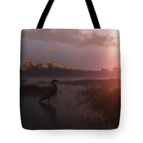 Solitary Vigil Tote Bag by Melissa Krauss
