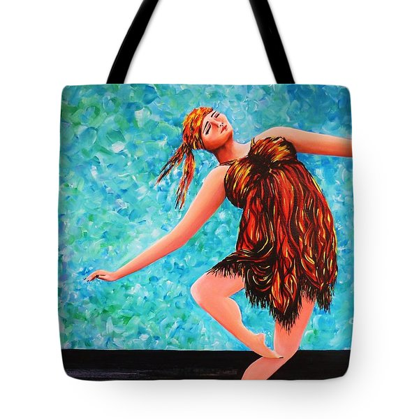Solo Performance Tote Bag by Kaye Miller-Dewing