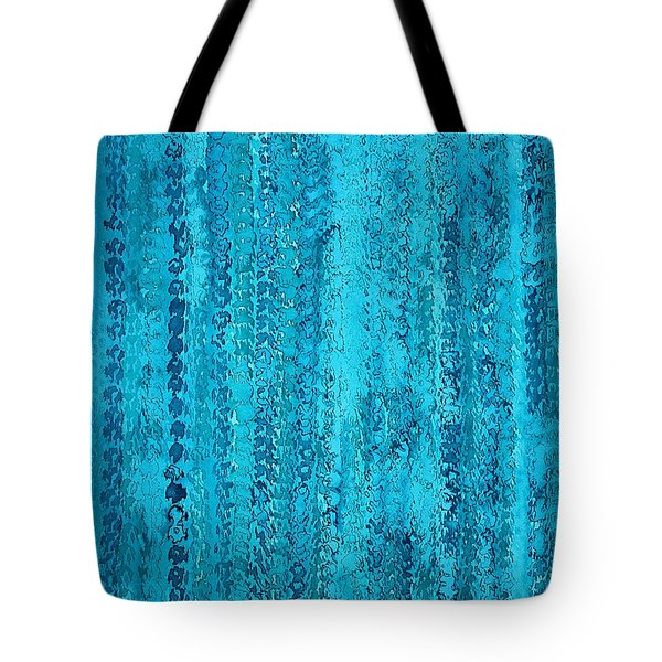 Some Call It Rain Original Painting Tote Bag by Sol Luckman