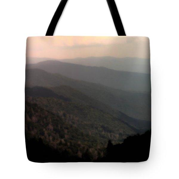 SONG of SERENITY Tote Bag by KAREN WILES