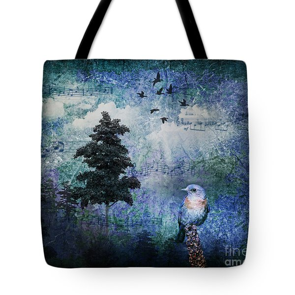 Songbird Tote Bag by Lianne Schneider